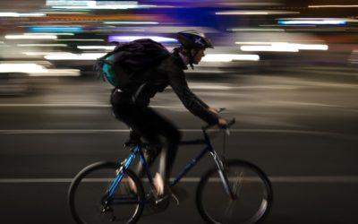 Livreur à vélo éco²