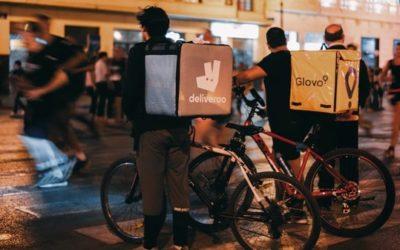 Livreur à vélo :  job étudiant idéal